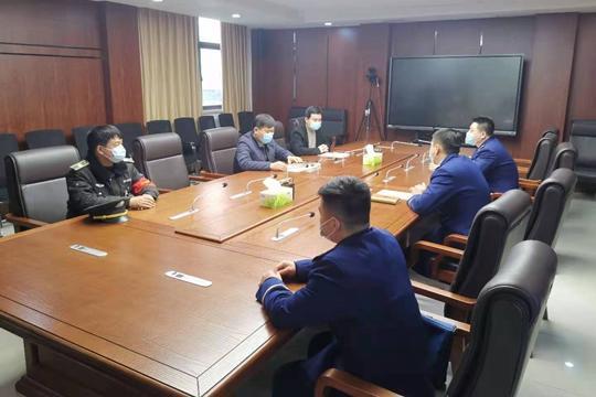 《【摩登4在线平台】中牟县消防救援大队到雁鸣湖镇调研指导消防安全工作》