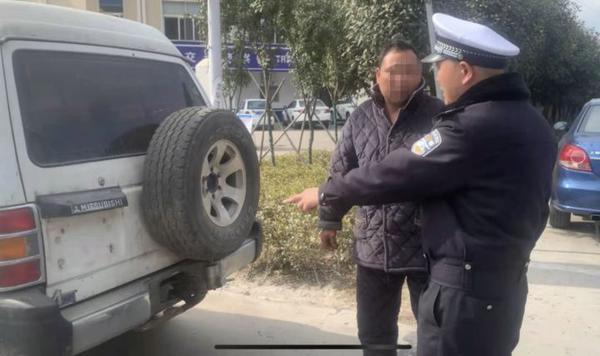 已超7年未审验!漯河一男子花4500元买报废车代步