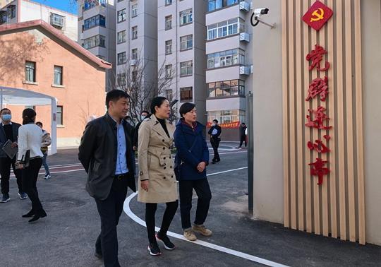 《【摩登4品牌】郑州市金水区人大常委会主任薛燕一行到经八路街道视察》