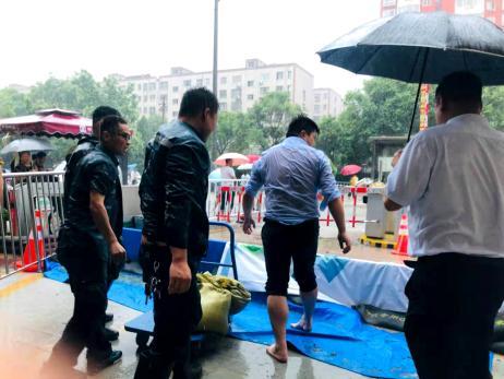 """闻""""汛""""而动 迎战暴雨 中海物业郑州城市公司在行动"""