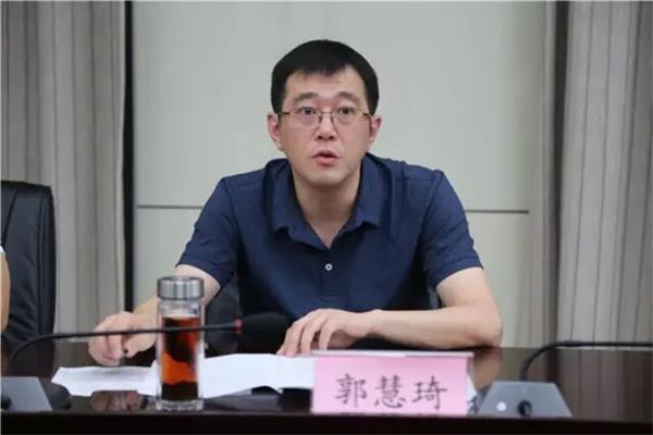 郭慧琦处长通报全市前七个月控申工作开展情况。