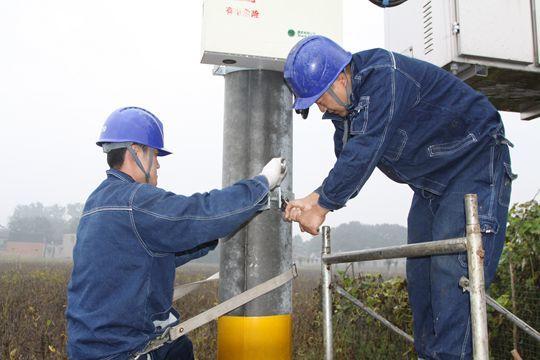 金沙国际娱乐平台:新郑市供电公司低压改造让用户放心用电