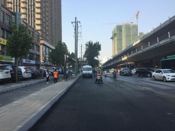 河医立交西建设东路南侧新公交站点