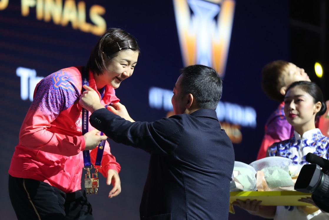 世巡总决赛女单三连冠!陈梦:这只是小突破,继续为奥运资格努力