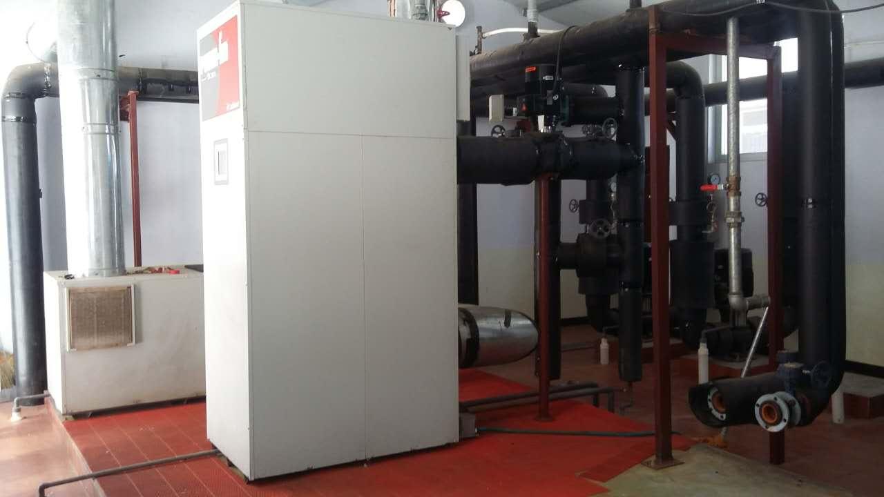引进使用清洁燃气作能源的供暖设备