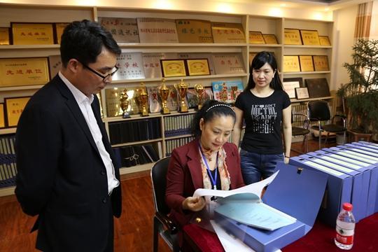北京快乐8为什么会输:中牟县第三初中接受省语言文字规范化示范校评估验收