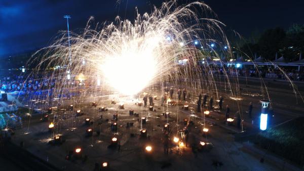 北京赛车技巧心得必胜:2018戊戌中秋赏月庆丰盛典在郑州绿博园圆满礼成