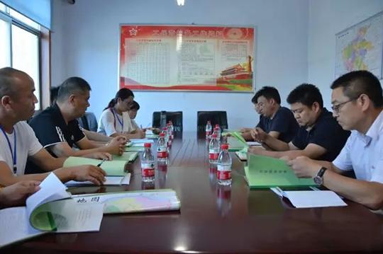 中牟县东风路街道办事处迎接省级环境保护督察工作