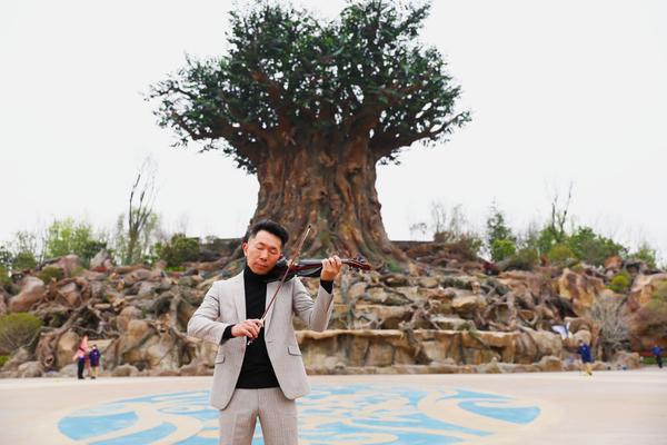 杨丽萍舞团、聂耳交响乐团首席小提琴演奏家萧瑞光要来银基动物王国啦!孔雀公主与首席小提琴演奏家联袂献礼!