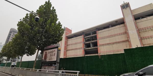 郑州中科大厦将爆破 老科技市场商户都去哪儿了?