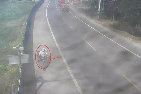 犯罪嫌疑人驾车逃离方向