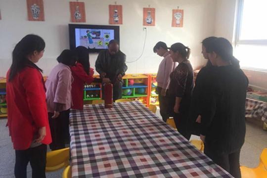 澳门网上赌博开户:中牟县刁家乡第四中心幼儿园开展教师消防安全培训