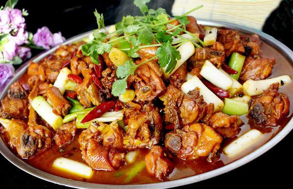 热菜 大盘鸡