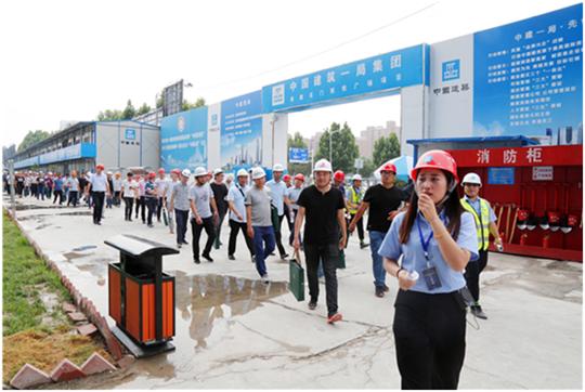 能玩北京赛车的网站:郑州市组织观摩标准化施工__中建一局演绎领先标准