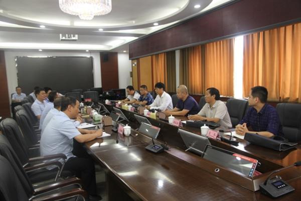 河南省高院第三方评估预评组到新郑法院对执行工作进行预评估