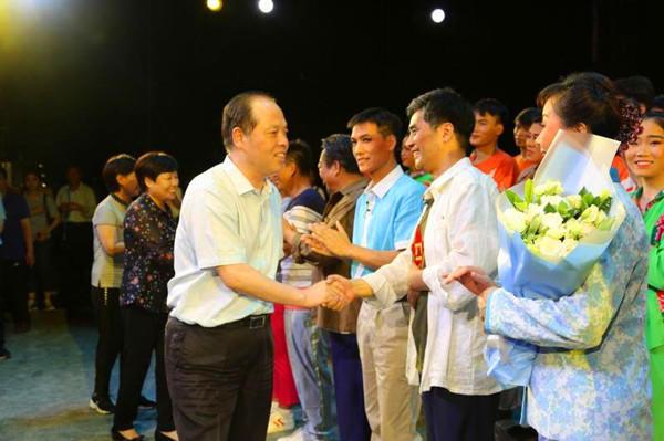 金沙线上娱乐网站:渑池县创编的大型现代曲剧《大山的儿子》亮相京城