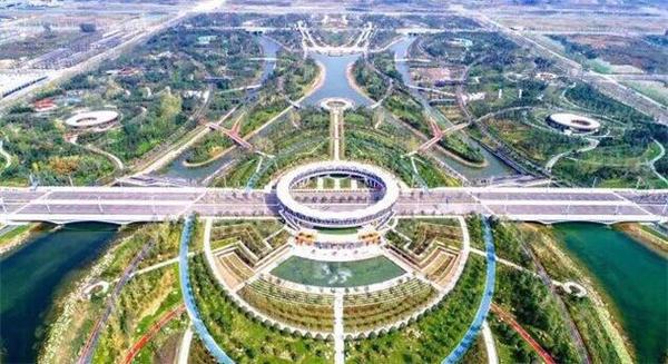 时时彩哪个网站靠谱:郑州航空港再添美景_双鹤湖中央公园音乐喷泉华美绽放