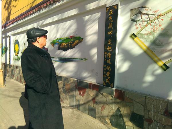 皇家彩票网投信誉平台:义马市建成廉政楹联文化一条街