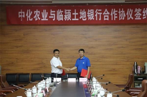 急速赛车是统一开奖么?:中化农业与临颍县土地银行举行合作签约仪式