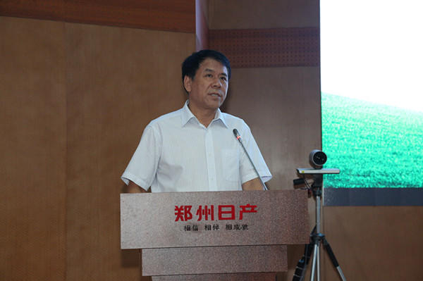 郑州慈善总会常务副会长兼秘书长王万民讲话_副本
