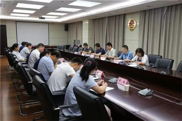 8月1日上午,漯河市控申检察工作推进会在市检察院召开。