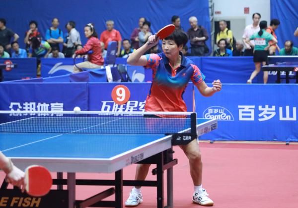 河南省选手喜获全国老年人乒乓球赛女单冠军-大河网
