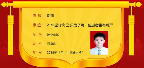"""河南13人入选2018年11月""""中国好人榜"""" 看看都是谁"""