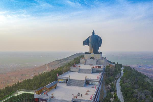 震撼!亚洲最高历史人物铸铜雕像在河南这个景区