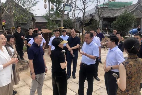 豫文旅廳廳長姜繼鼎中牟調研 強調旅遊產品與優質服務