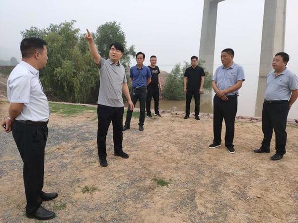 """荥阳市广武镇:""""火速出击""""全力做好防汛工作"""