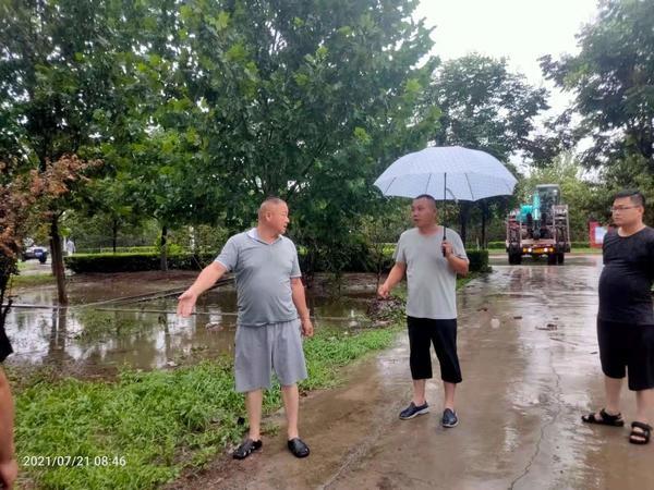 荥阳市王村镇:风雨暂停防汛不歇 一线彰显责任担当