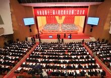 【大河网景】河南省十三届人大二次会议开幕 陈润儿作政府工作报告